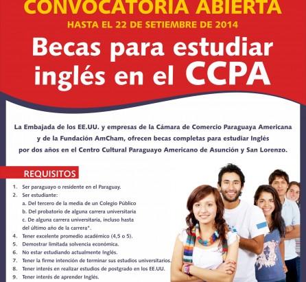 BECAS PARA ESTUDIAR INGLÉS EN EL CCPA 2014 (3)