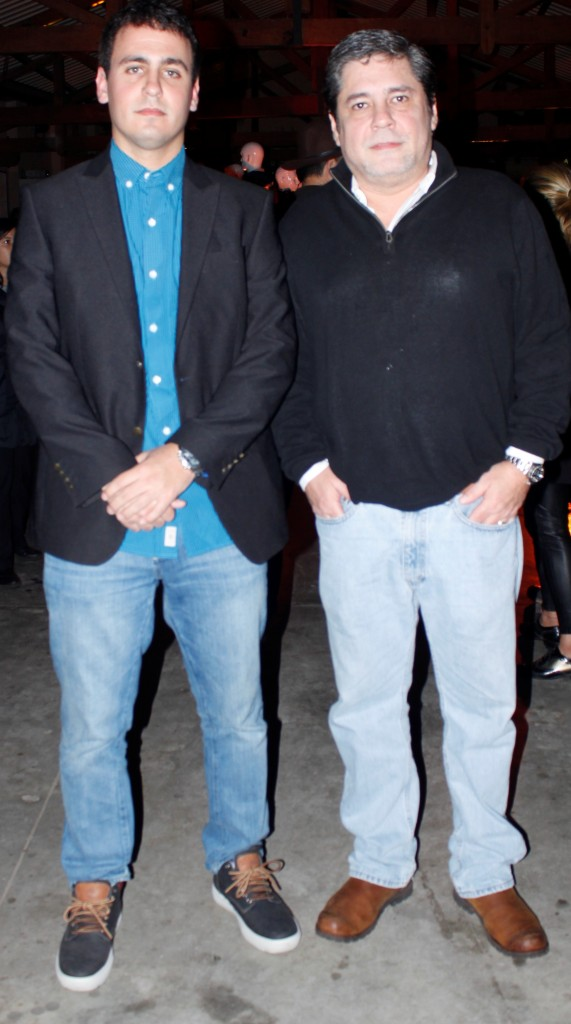 Esteban Peyrat (Brand manager de Timberland) y Tony Cubilla (Guata Pora) (2)
