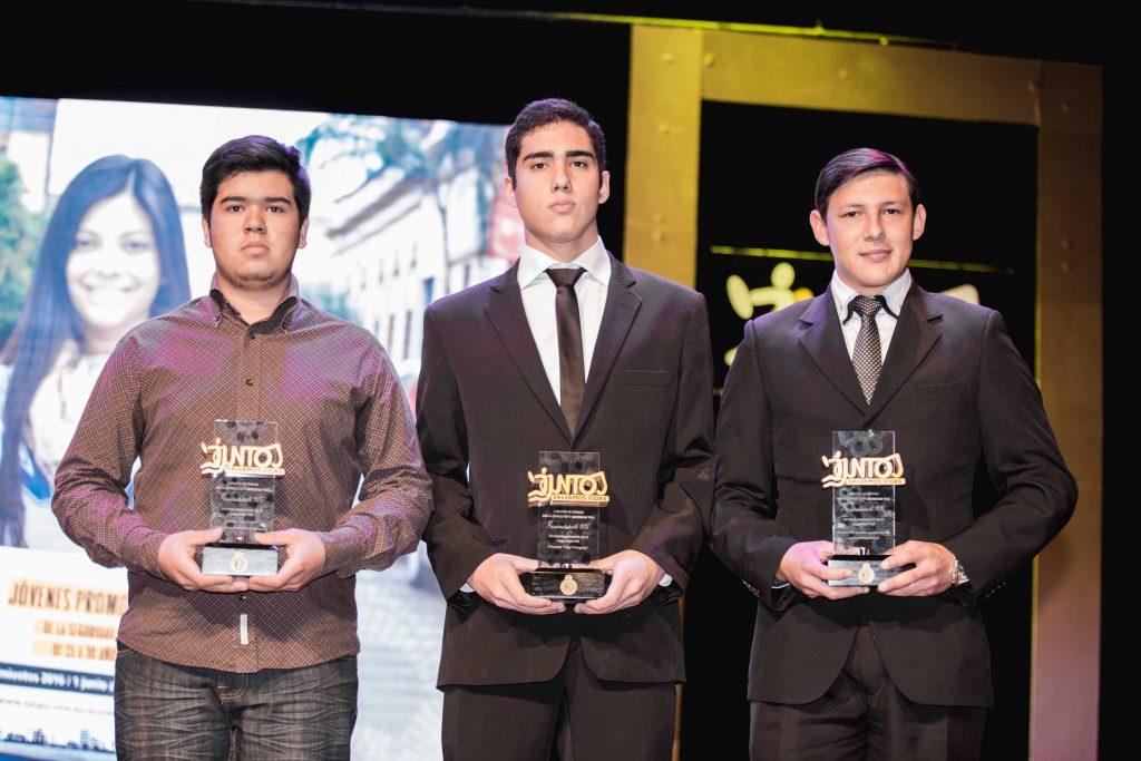 Elias DaRosa, Mathias Vázquez y Joel Medina - JOVENES RECONOCIDOS