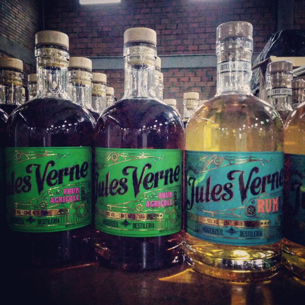 Jules Verne Rhum Agricole and Rum Gold